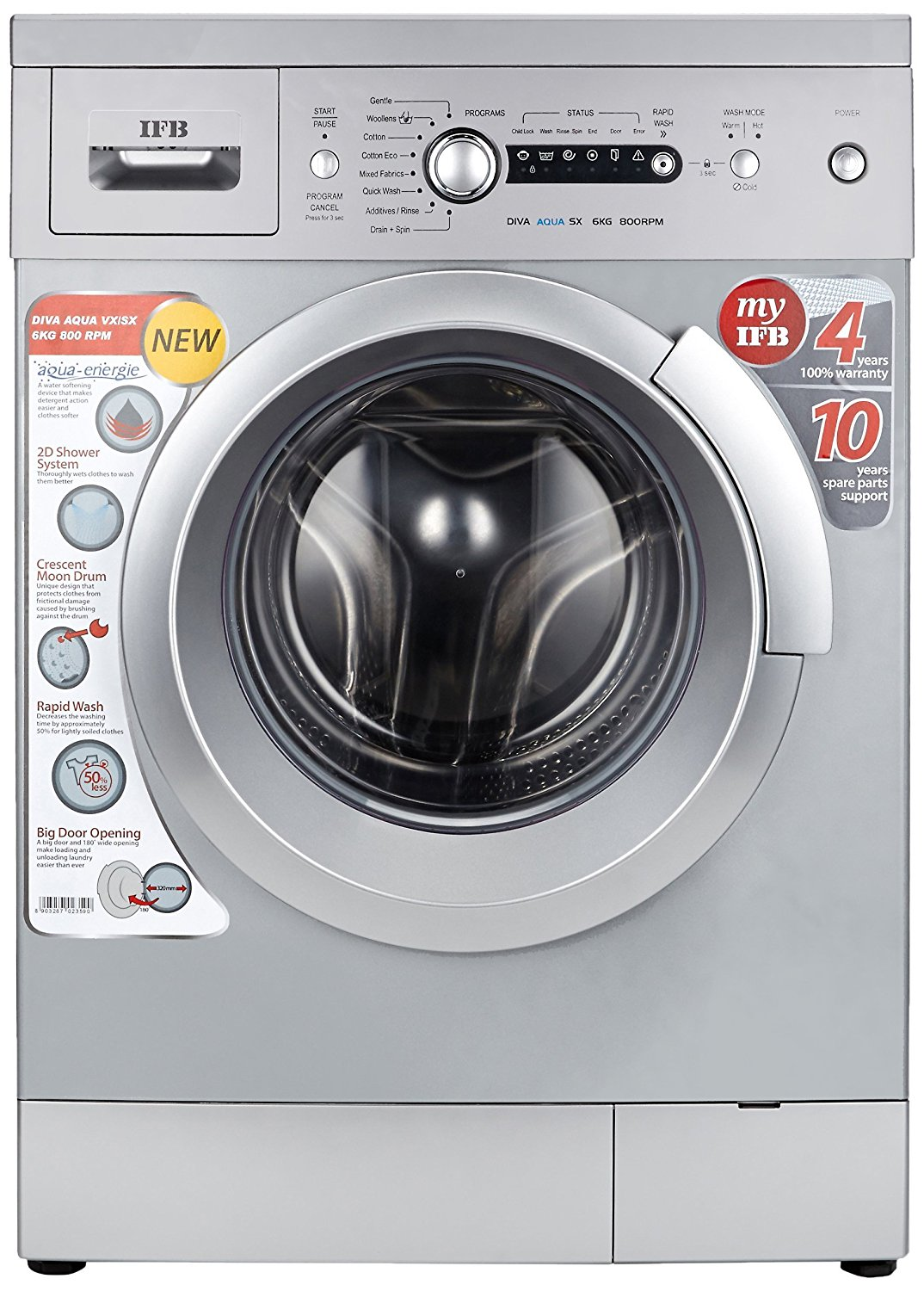 Ifb Washing Machine Drum Bearing Price : ifb 6 kg fully automatic front loading washing machine diva aqua sx silver twins electronics ~ Hamham.info Haus und Dekorationen